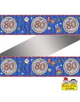Rachel Ellen Blue Age 80 Foil Banner
