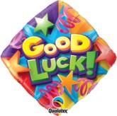 "18"" Good Luck Foil Diamond Balloon"