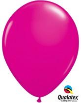 "Qualatex Fashion 11"" Wild Berry Latex Balloons 100pk"