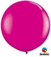 Wild Berry Round 3ft Latex Balloons 2pk