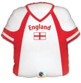 "22"" England Shirt Foil Balloon"
