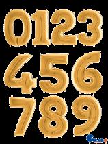 "Gold 26"" Foil Number Balloons"