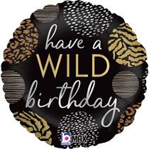 "Have A Wild Birthday 18"" Foil Balloon"
