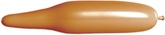 321Q No-Tip Mocha Brown Latex Balloons 100pk