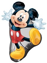 """Mickey Mouse Giant 31"""" Supershape Foil Balloon"""