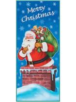 Merry Christmas Santa Door Banner