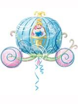 "Cinderella Carriage 33"" SuperShape Foil Balloon"