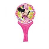 Minnie Mouse Inflate-A-Fun Foil Balloon
