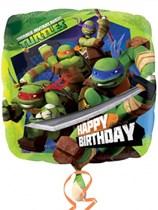 "17"" Teenage Mutant Ninja Turtles 'Happy Birthday' Foil Balloon"
