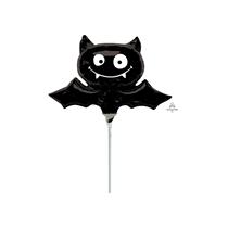 Halloween Black Bat Foil Mini Shape Balloon