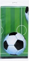"Football Rectangular Plastic Tablecover 54""x 108"""