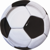 """8 Large Football 9"""" Paper Plates"""