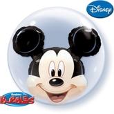 """Mickey Mouse Double Bubble Balloon 24"""""""