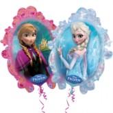 "Frozen Elsa & Anna 31"" SuperShape Foil Balloon"