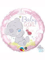 "Tiny Tatty Teddy Baby Girl 18"" Foil Balloon"