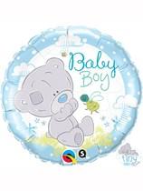 "Tiny Tatty Teddy Baby Boy 18"" Foil Balloon"