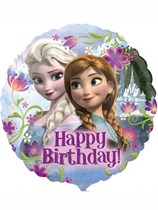 "Frozen Happy Birthday 18"" Foil Balloon"