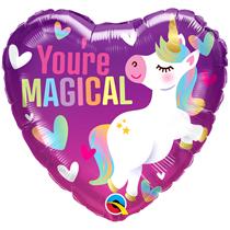 "Valentine 18"" You're Magical Unicorn Foil Balloon"