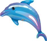 "Dolphin Foil Supershape Foil Balloon 42"""