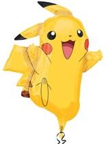 "Pokemon Pikachu 31"" Supershape Foil Balloon"
