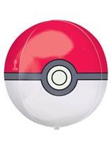 "Pokemon Pokeball 16"" Orbz Balloon"