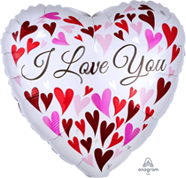 "Valentine's I Love You 18"" Heart Foil Balloon"