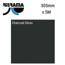 Charcoal Gloss Vinyl 5M