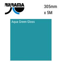 Aqua Green Gloss Vinyl 305mm x 5M