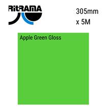 Apple Green Gloss Vinyl 305mm x 5M