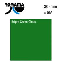 Bright Green Gloss Vinyl 305mm x 5M