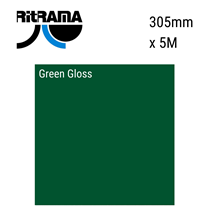 Green Gloss Vinyl 305mm x 5M