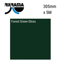 Forest Green Gloss Vinyl 305mm x 5M