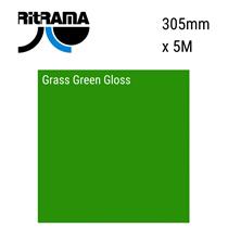 Grass Green Gloss Vinyl 305mm x 5M