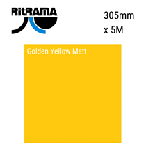 Golden Yellow Matt Vinyl 305mm x 5M