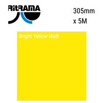 Bright Yellow Matt Vinyl 305mm x 5M