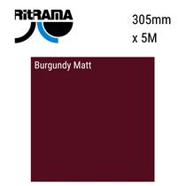 Burgundy Matt Vinyl 305mm x 5M