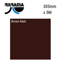 Brown Matt Vinyl 305mm x 5M