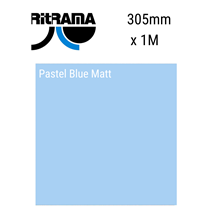 Ritrama Pastel Blue Matt Vinyl 305mm x 5M