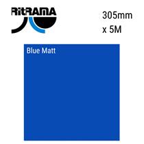 Blue Matt Vinyl 305mm x 5M