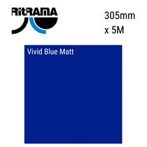Vivid Blue Matt Vinyl 305mm x 5M