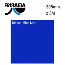 Brilliant Blue Matt Vinyl 305mm x 5M