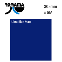 Ultra Blue Matt Vinyl 305mm x 5M