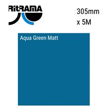 Aqua Green Matt Vinyl 305mm x 5M