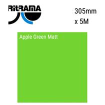 Apple Green Matt Vinyl 305mm x 5M