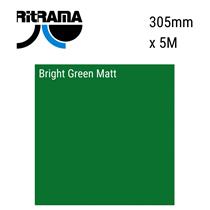 Bright Green Matt Vinyl 305mm x 5M