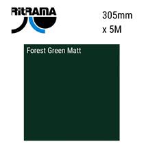 Forest Green Green Matt Vinyl 305mm x 5M