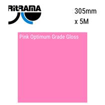 Pink Optimum Grade Gloss Vinyl 305mm x 5M