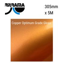 Copper Optimum Grade Gloss Vinyl 305mm x 5M
