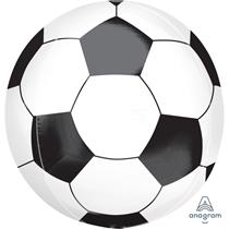 "Soccer Ball Football 15"" Orbz Foil Balloon"