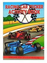 Racing Car Mini Sticker Activity Book